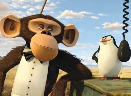 猿キャラクターマダガスカル2